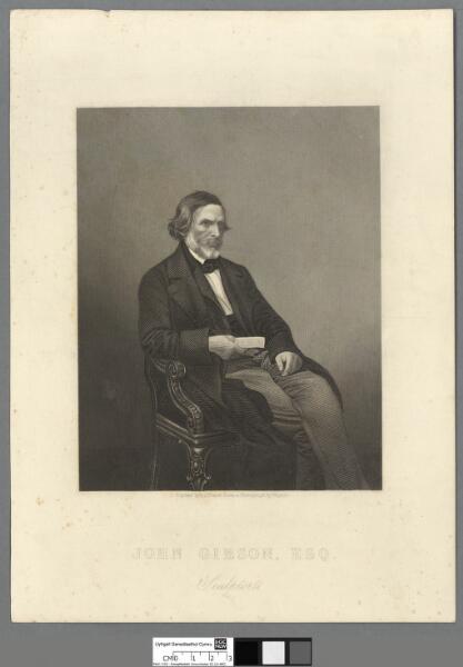 John Gibson, Esq sculptor