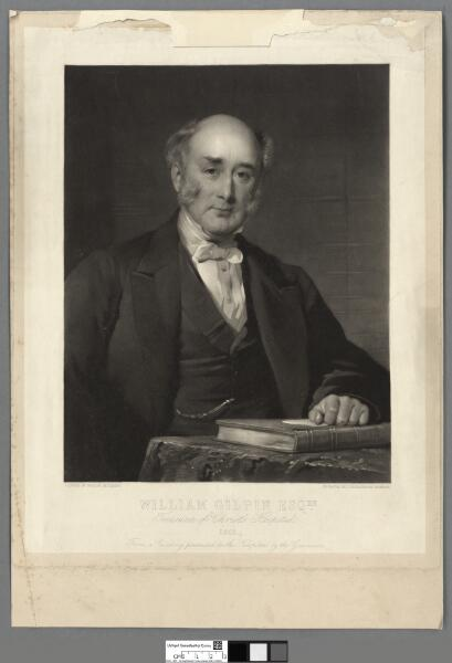 William Gilpin Esqre Treasurer of Christ's...