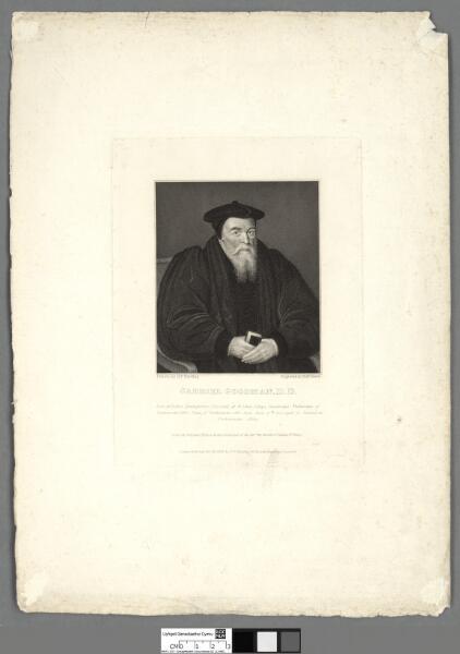 Gabriel Goodman, D. D born at Ruthin,...