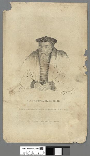 Gabl. Goodman, D.D Dean of Westminster &...