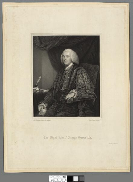 The Right Honble. George Grenville