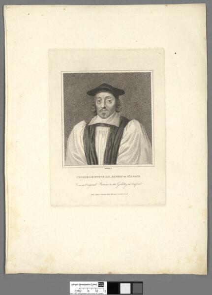 George Griffith D.D Bishop of St. Asaph