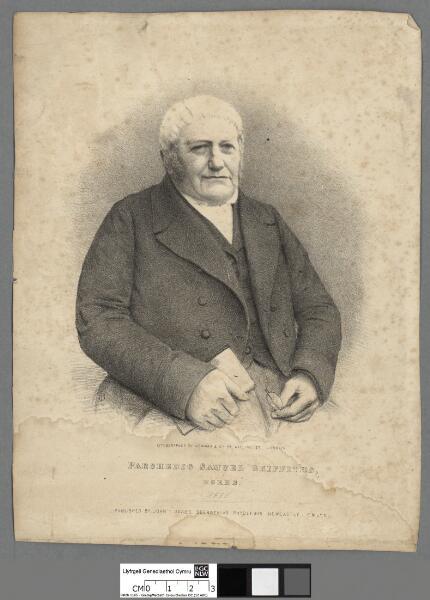 Parchedig Samuel Griffiths, Horeb Llandysul 1855