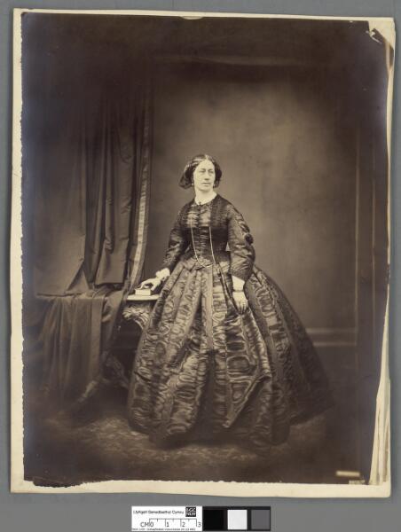 Portrait of a woman, ca.1860s