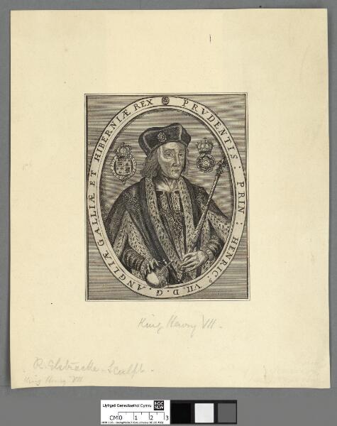 Prudentis : Prin : Henryc. VII. D.G. Angliae...
