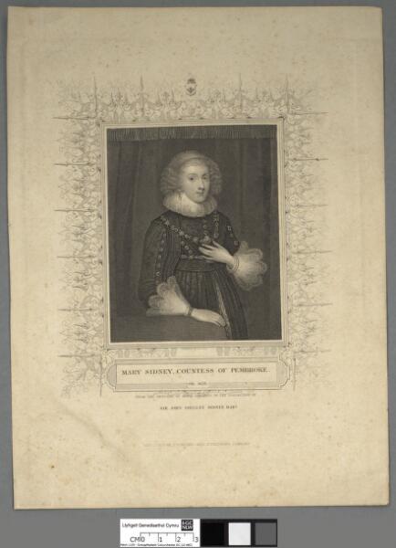 Mary Sidney, Countess of Pembroke ob. 1621