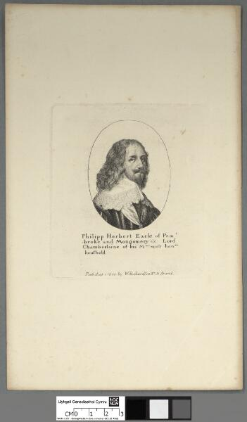 Philipp Herbert Earle of Pembroke and Mongomery...