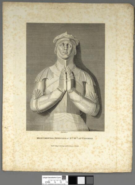 Monumental effigies of Sr. Wm. Ap Thomas