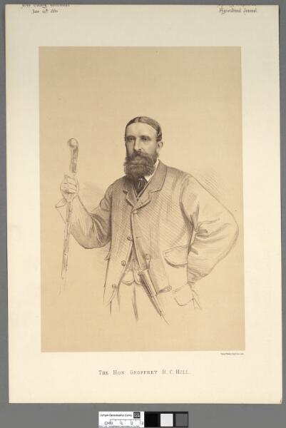 The Hon. Geoffrey R. C. Hill