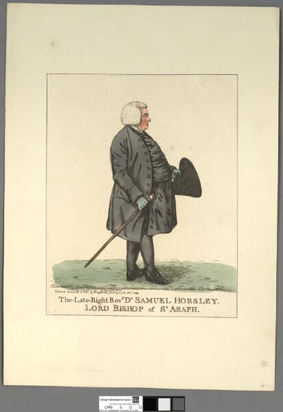The late Right Revd Dr Samuel Horsley, Lord...