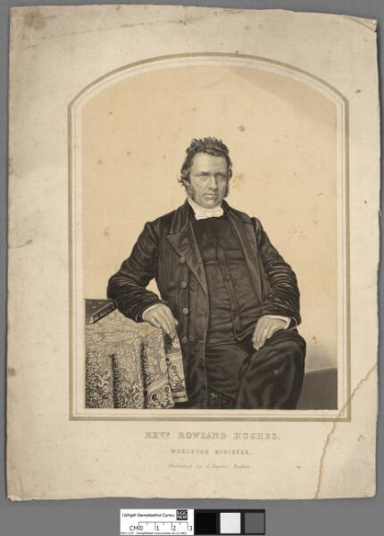 Rev. Rowland Hughes, Wesleyan Minister