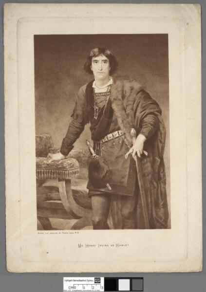 Mr. Henry Irving as Hamlet