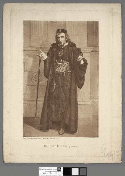 Mr. Henry Irving as Shylock