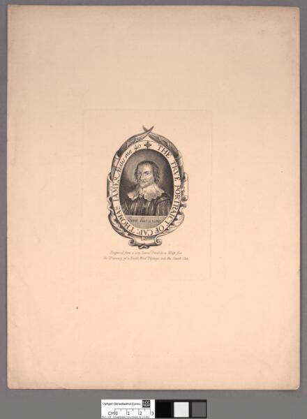 The true portraict of Cap: Thomas James aetatis...