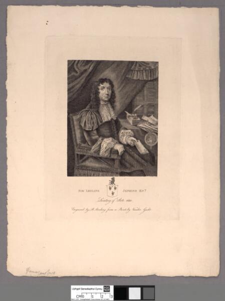 Sir Leoline Jenkins Knt Secretary of State 1680