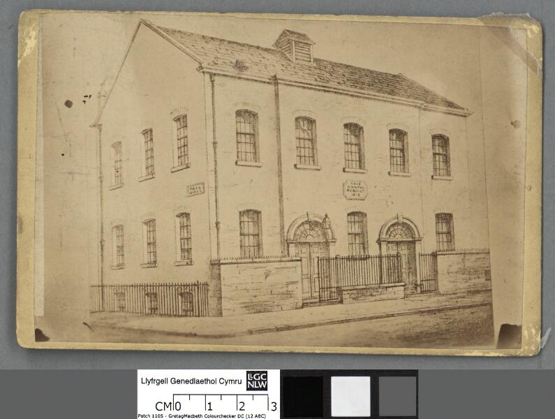 Welsh Methodist Chapel, Pall Mall, Liverpool