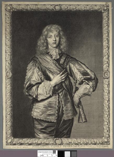 Philippus. Comes Pembrokiae aetatis suae 18