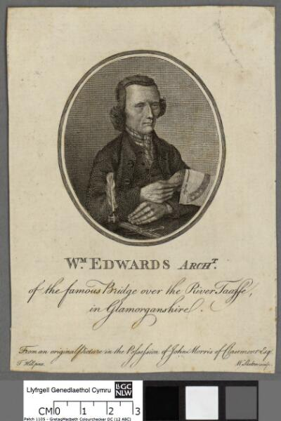 Wm. Edwards Archt of the famous bridge over the...