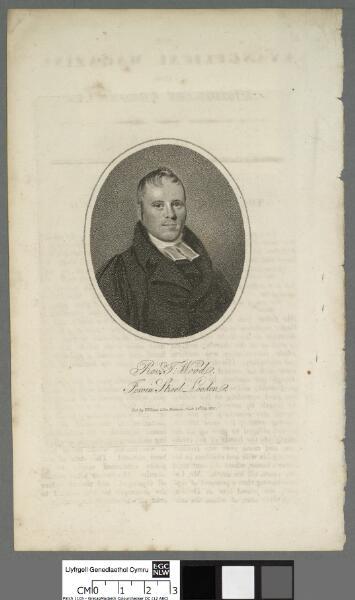 Rev. T. Wood of Jewin Street, London