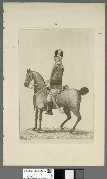 Mr. Woodrow of Pembrokeshire Cavalry stationed...