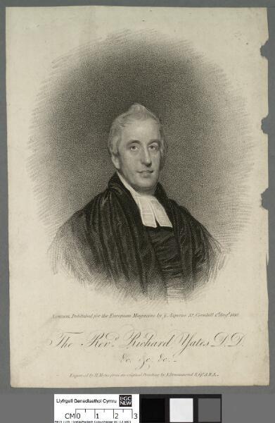 The Revd. Richard Yates D.D. &c. &c. ...