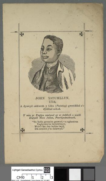 John Ystumllyn, 1754