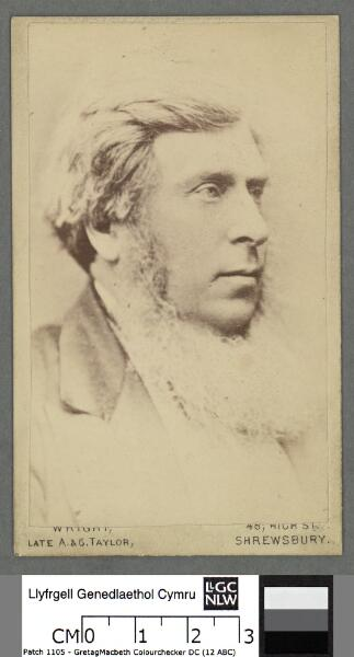 Henry Robertson Esq. (of Pale, Llandderfel)