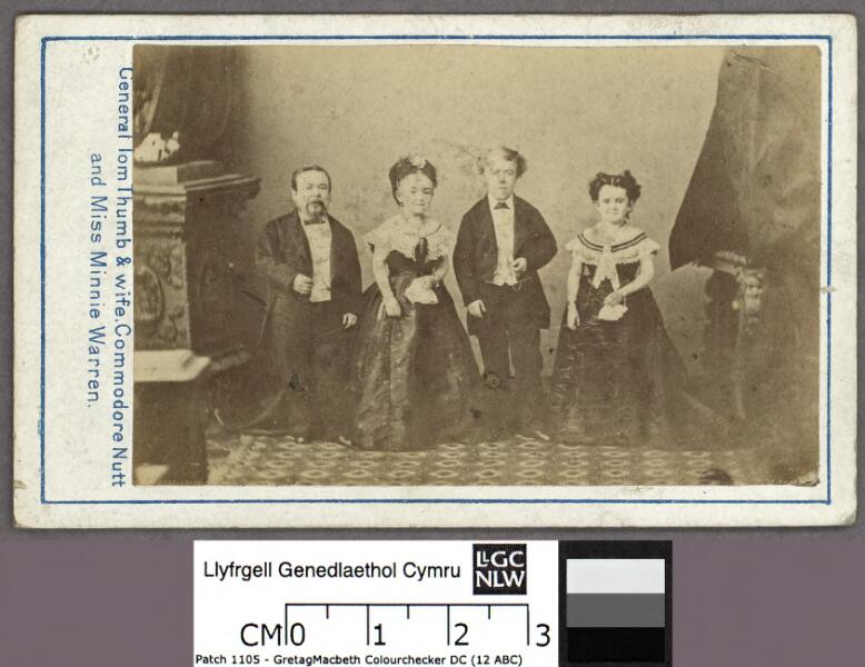 General Tom Thumb & Wife. Commodore Nutt...