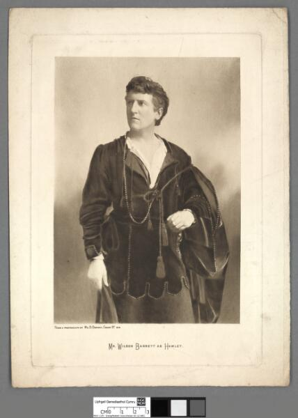 Mr. Wilson Barrett as Hamlet