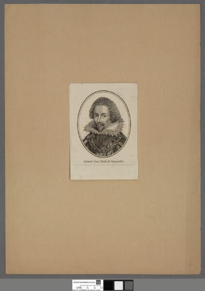 Robert Carr Earl of Somerset