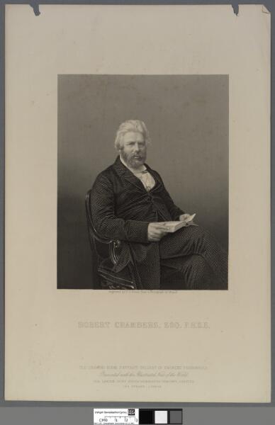 Robert Chambers, Esq. F.R.S.E