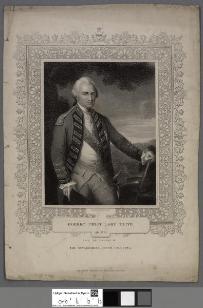 Robert, First Lord Clive OB. 1774