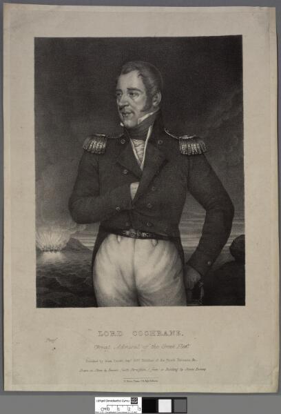 Lord Cochrane Great Admiral of the Greek Fleet