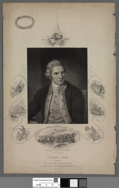 Captain Cook OB. 1779