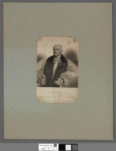 The Right Reverend Edward Copleston, D.D. (by...