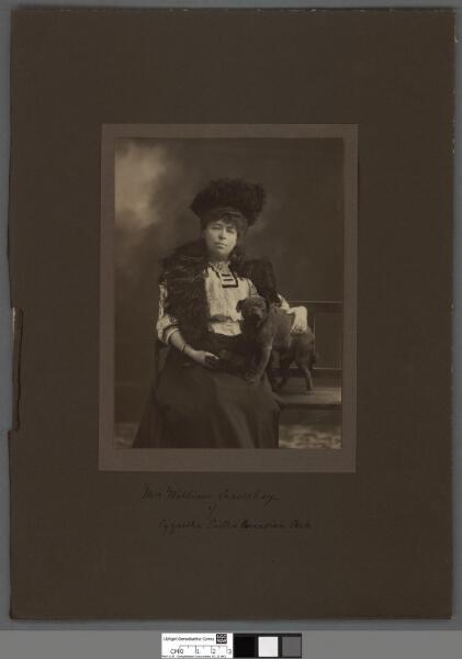 Mrs. William Crawshay of Cyfarthfa Castle &...