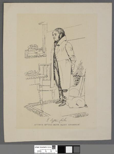 "T. Crofton Croker author of ""The Irish..."