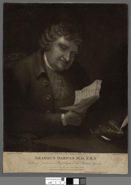Erasmus Darwin M.D. F.R.S author of Zoonomia,...