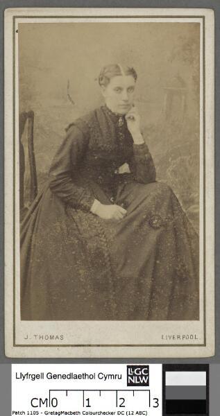 Mrs John Thomas Chemist Machynlleth (nee Miss V...