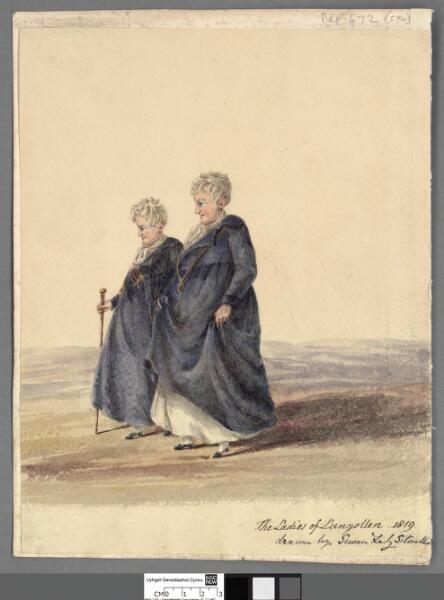 The Ladies of Llangollen 1819