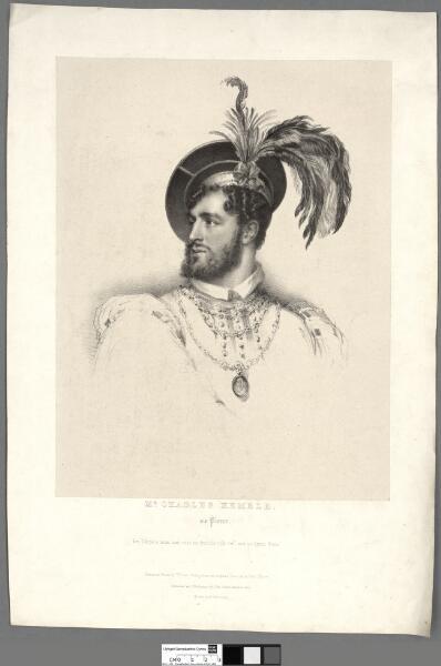 Mr. Charles Kemble as Pierre