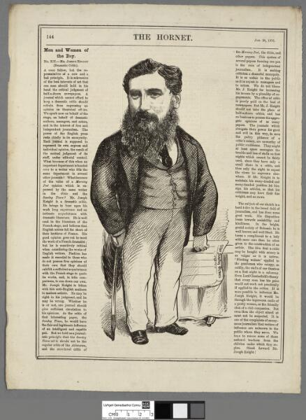 Mr. Joseph Knight (dramatic critic)