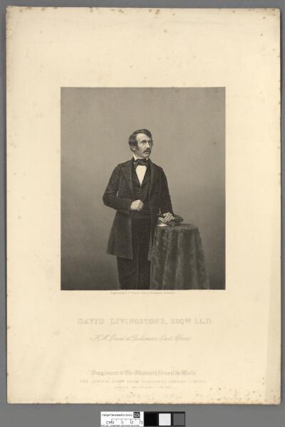 David Livingstone, Esqre. LL.D H.M. Consul at...