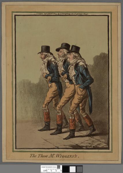 The three Mr. Wiggins's