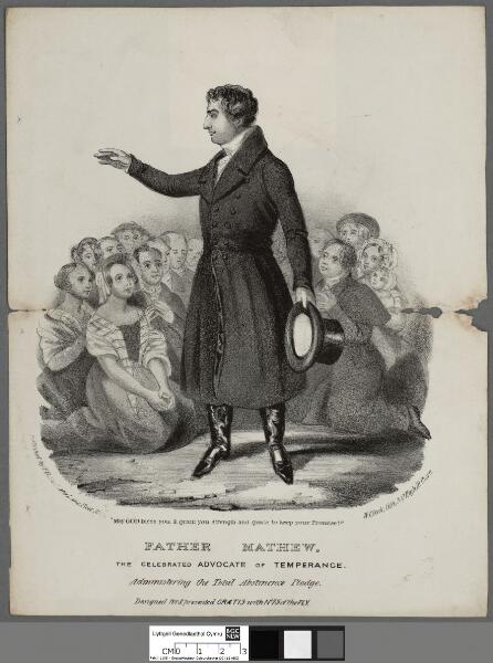 Father Mathew the celebrated advocate of...