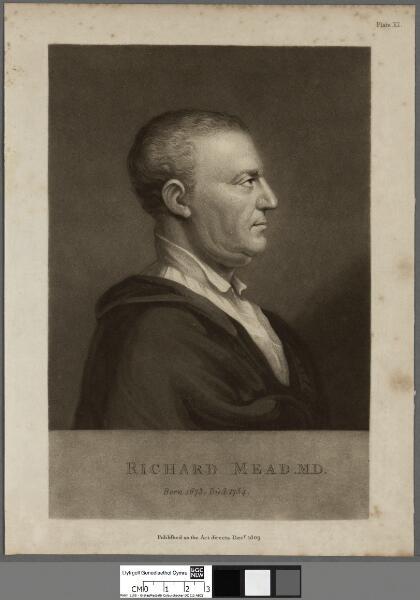 Richard Mead, M.D                      born...