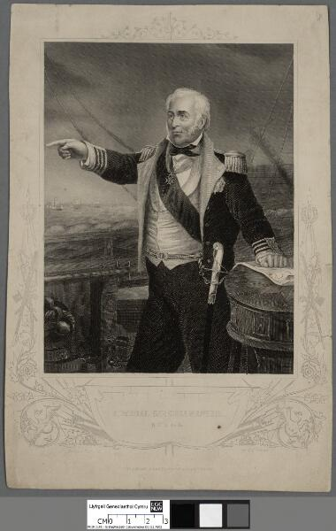 Admiral Sir Chas. Napier, KCB &c &c