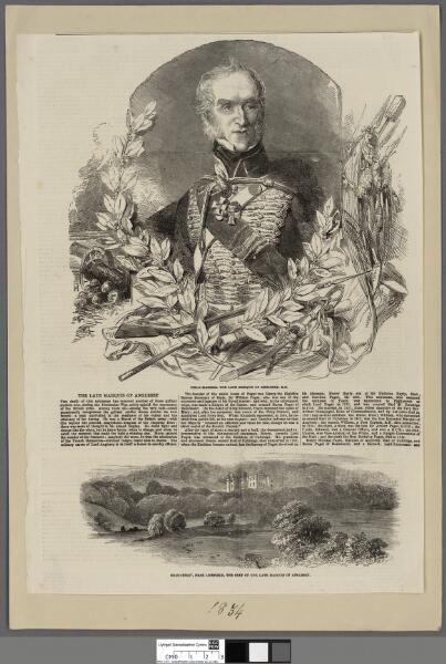 Field-Marshall the late Marquis of Anglesey, K...