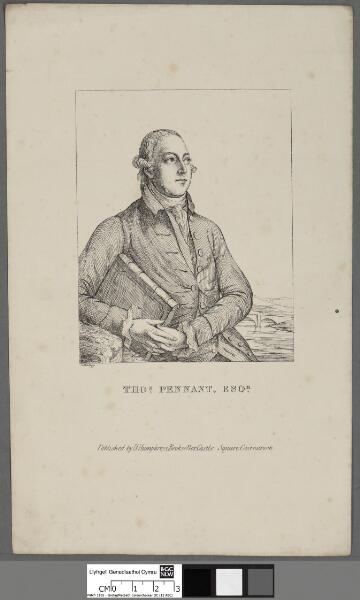 Thos. Pennant, Esqr