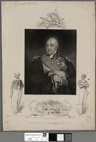 Viscount Exmouth, G.C.B. ; Lord Exmouth...